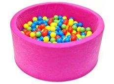 Dětský molitanový bazének - růžový