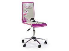 Dětská otočná židle PRETTY GIRL růžová