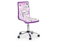 Dětská otočná židle FASHION fialová