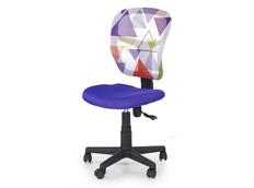 Dětská otočná židle JUMP fialová