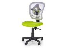 Dětská otočná židle JUMP zelená