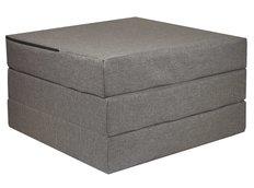 Rozkládací molitanová matrace 195x65x10 cm - šedá