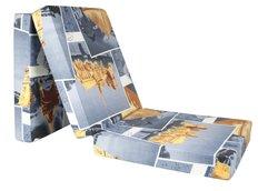 Rozkládací molitanová matrace 195x65x10 cm - Eiffel