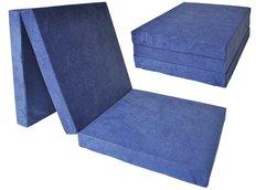 Rozkládací molitanová matrace 195x80x10 cm - granátová