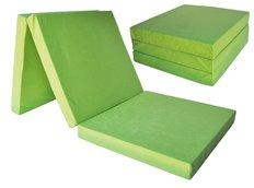 Rozkládací molitanová matrace 195x80x15 cm - zelená