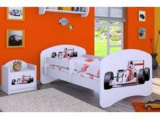 Dětská postel bez šuplíku 190x90cm FORMULE F1