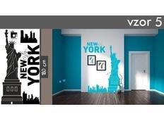 Samolepky na zeď MĚSTA XXL color - NEW YORK CITY