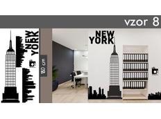 Samolepky na zeď MĚSTA XXL color - NEW YORK