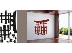 Samolepky na zeď MĚSTA XXL color - CHINA