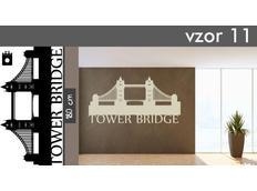 Samolepky na zeď MĚSTA XXL color - TOWER BRIDGE