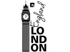Samolepky na zeď MĚSTA color - vzor 1 - LONDON