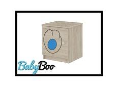 Dětský noční stolek s výřezem KOČIČKA - modrá