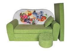 Dětská pohovka SAFARI - zelená