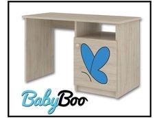 Dětský psací stůl s výřezem ŽIRAFA - modrá