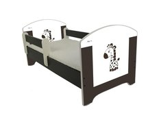 Dětská postel HNĚDÁ ŽIRAFA 140x70 cm