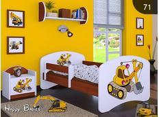 Dětská postel bez šuplíkem 160x80cm