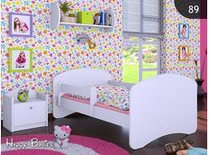 Dětská postel bez šuplíkem 180x90cm