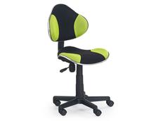 Dětská otočná židle FLASH černo-zelená
