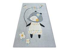 Dětský kusový koberec MYŠKA - šedý