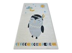 Dětský kusový koberec TUČŇÁK - bílý