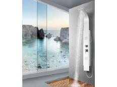 Sprchový panel CASCADE white