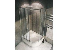 Sprchový kout IMPULS PLUS 80x100 cm s vaničkou