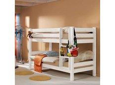 Dětská PATROVÁ postel BARČA 200x90 cm - bílá