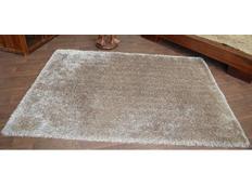 Kusový koberec SHAGGY LOVE - světle hnědý