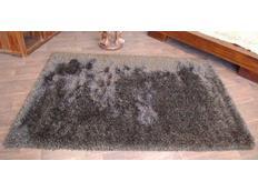 Kusový koberec SHAGGY LOVE - tmavě hnědý
