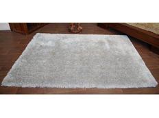 Kusový koberec SHAGGY LOVE - stříbrný