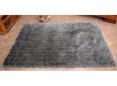 Kusový koberec SHAGGY LOVE - černý
