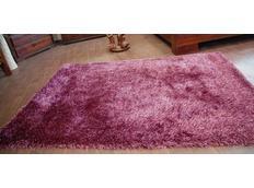 Kusový koberec SHAGGY LOVE - purpurový