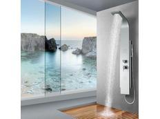 Sprchový panel CASCADE silver