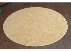 Kulatý koberec SERENADE - zlatý