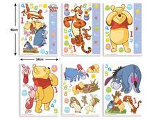 Dětské samolepky Disney - Medvídek Pů