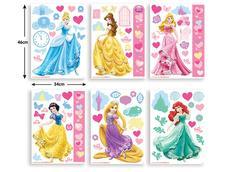 Dětské samolepky Disney - Princezny