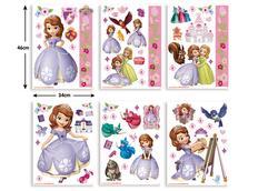 Dětské samolepky Disney - Sofie