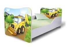 Dětská postel 140x70 cm - BAGR