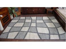 Kusový koberec SHAGGY ALDO 530 - šedý
