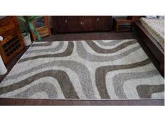 Kusový koberec SHAGGY ALDO 531 - béžový