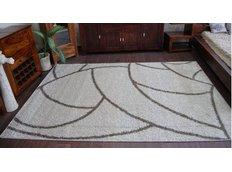 Kusový koberec SHAGGY ALDO 532 - béžový