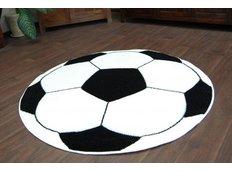 Dětský koberec KOPAČÁK bílý