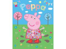3D tapeta PEPPA PIG