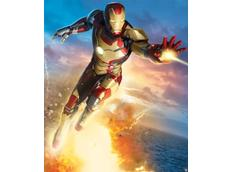 3D tapeta IRON MAN