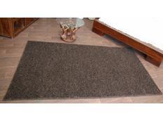 Kusový koberec SHAGGY MISTRAL – tmavě hnědý