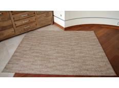 Kusový koberec SHAGGY WAVES – béžový