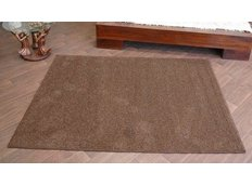 Kusový koberec SHAGGY ALPHA – hnědý