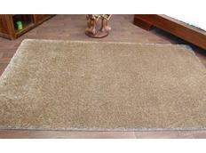 Kusový koberec SHAGGY CARNIVAL – tmavě béžový
