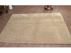 Kusový koberec SHAGGY CARNIVAL – světle béžový