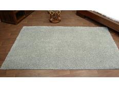 Kusový koberec SHAGGY – šedý